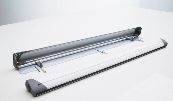Ophangsysteem flip-over papier