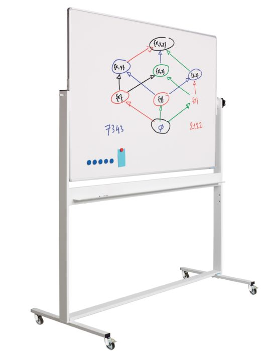 Verrijdbare whiteboards