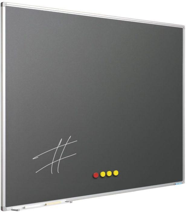 Enkelvlaksborden grijs
