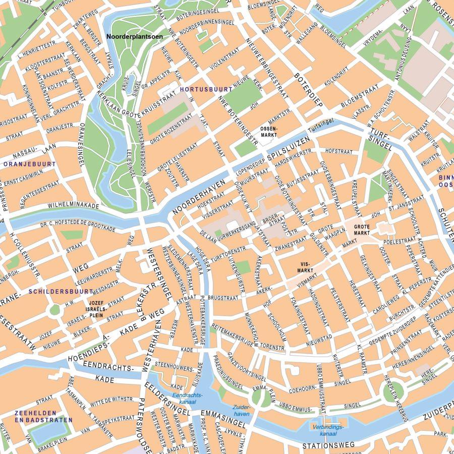 Groningen - 90x120 cm