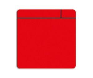 Magneetfolie Scrum rood