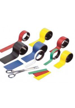 Magnetsiche band 100cm Geel -  4x100 cm