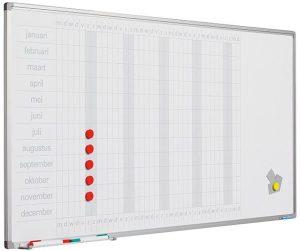Planbord Softline profiel 8mm Jaar GB