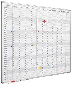 NL incl. maand-/dagen-/cijferstroken - 60x90 cm