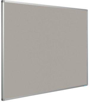 Prikbord Softline profiel 16mm bulletin Grijs - 120x300 cm