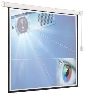 Projectiescherm elektrisch (16:10)