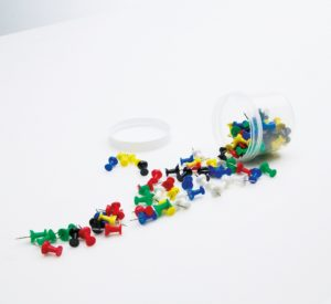 Pushpins assortiment