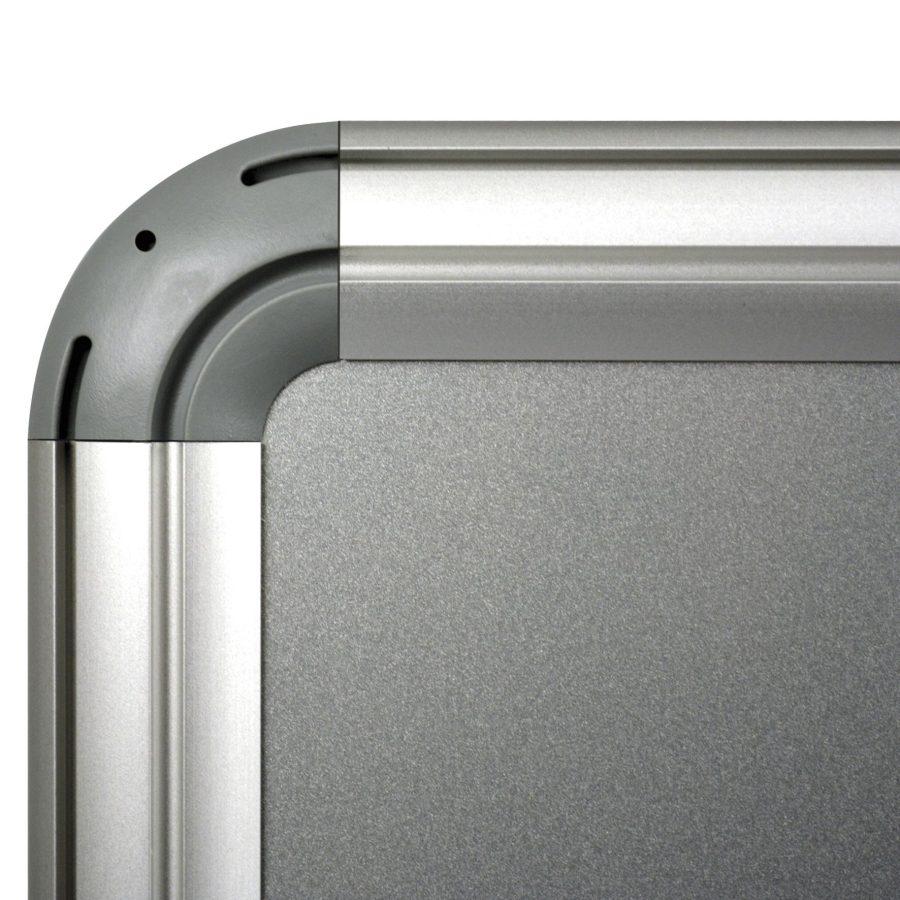 metallic silver - 100x150 cm