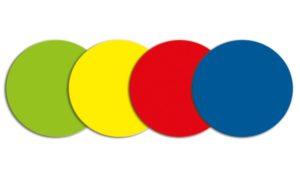 Symbool Cirkel blauw