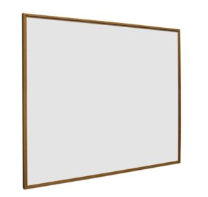 Whiteboard Softline profiel 16mm Eiken-houtlook