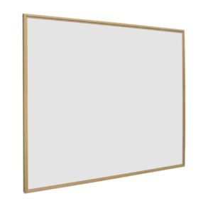 Whiteboard Softline profiel 16mm Vuren-houtlook